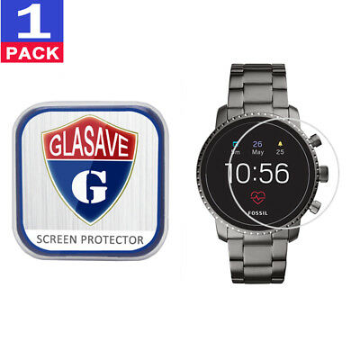 GLASAVE Fossil Q Explorist HR (Gen 4) 45mm Tempered Glass Screen Protector