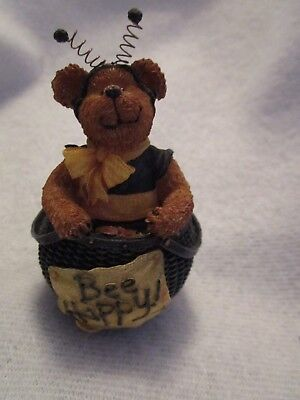 "Boyds Basketbearies ""Bee Happy"" Figure NIP"