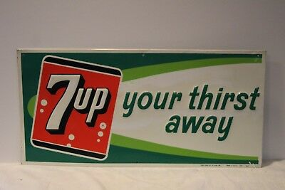 7-Up Advertising Sign