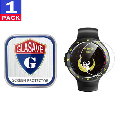 (1 Pack) GLASAVE Tempered Glass Screen Protector For Mobvoi Ticwatch S Sport