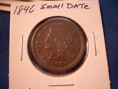 1846 Large cent  HIGH GRADE
