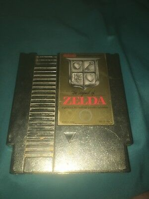 The Legend of Zelda (Nintendo - NES 1987) CLEANED and TESTED