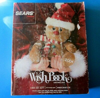 2004 Sears Canada Christmas Wish Book Catalog 1083 Pages