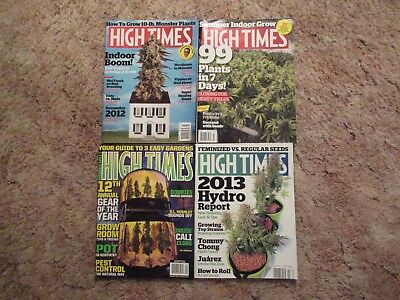 High Times Magazines (Lot Of 4)