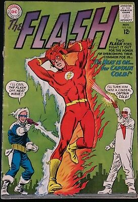 The Flash #140, 1st Appearance of Heat Wave, Key Issue