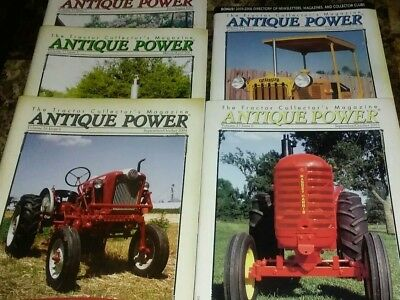 Antique Power  The Tractor Collectors Magazine lot of 5