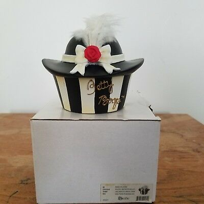 NIB Glamour Trinket, Treasure Box (Betty Boop by Pacific, 25891) Feathered Hat