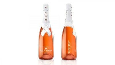 Off White - Moet & Chandon Nectar Imperial Rose By Virgil Abloh