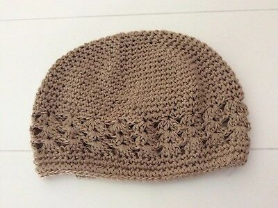 Gorgeous Gold Crotched Baby beanie / Hat