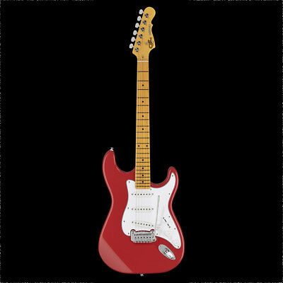 G&L Tribute Legacy Electric Guitar Maple Fretboard Fullerton Red w/ Bag