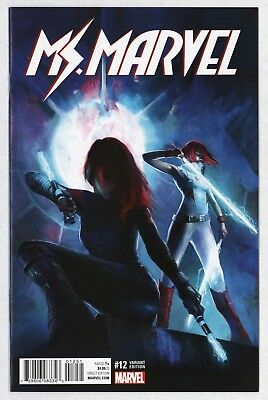 Ms. Marvel #12 Alessandro Taini 1:25 Incentive Variant Unread NM- 9.2 Red Widow
