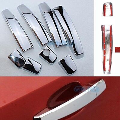Chrome Side Door Handle Cover Trim For Chevrolet Cruze 09 2010 2011 2012 2013 14
