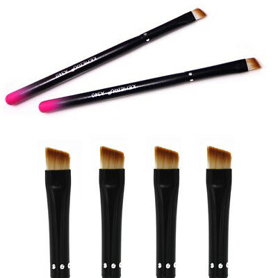 1/2x Professional Elite Angled Eyebrow Brush Nice Eye Liner Brow Makeup Tool New