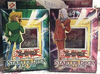 DISCONTINUED Starter Deck Joey + Pegasus Factory Sealed Yugioh BEST PRICE EBAY
