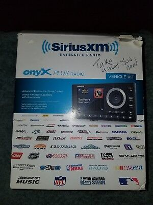 Onyx plus  Satellite Radio Complete Car Vehicle Kit . Never used still in packag