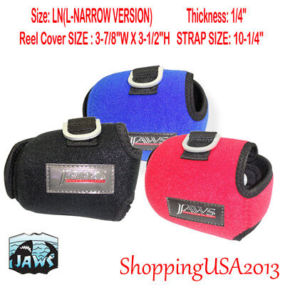 JAWS LN COVER FOR ACCURATE FX BX Avet HX RAPTOR SHIMANO TN REEL RED Blue Black