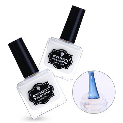 Nail Peel Off Liquid Tape Nail Polish Base Coat Latex Tape Nail Art DIY