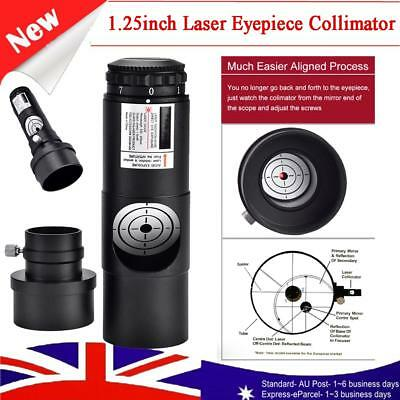 1.25inch Laser Collimator 7 Bright Level for Newtonian Marca Telescope AU New