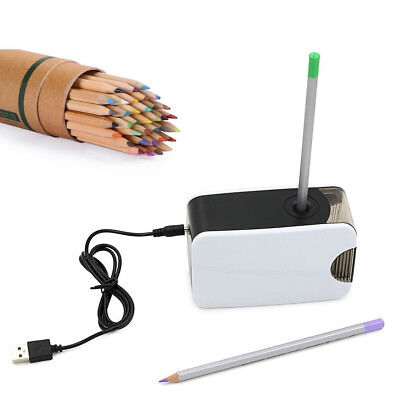 Pencil Sharpener Electric AutomaticTouch Battery Personal Home OfficeSchool US