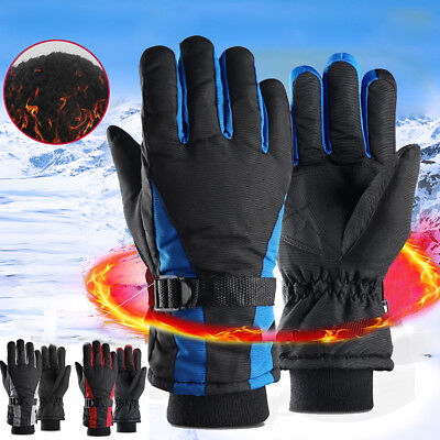 Mens Ladies Thermal Warm Ski Snowboard  Waterproof Anti-Slip Winter