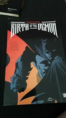 Batman: Birth of the Demon TPB by Mike W. Barr - DC Graphic Novel