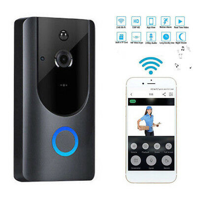 1080P Smart WIFI Security Doorbell Wireless Video Door Phone Camera Night Vision