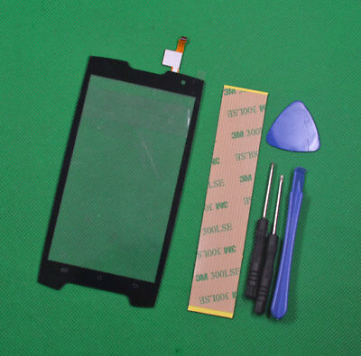 Replacement Black Touch Screen Digitizer Front Glass For Cubot King kong