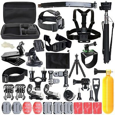 Gopro go pro hero 7 6 5 Session 4 SJCAM/Xiaomi yi EKEN Accessories Kit Mount