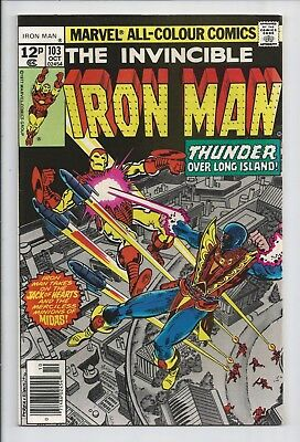 Iron Man #103 : Fine 6.0 : First Print : Jack of Hearts