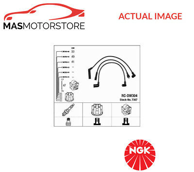7367 Ngk Ignition Cable Set Leads Kit G New Oe Replacement