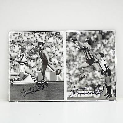 Jason Hadfield Dunstall Signed Autographed Gloss Picture AFL #454