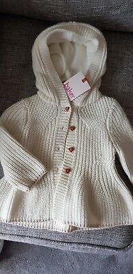 Baby Girl Ted Baker Cardigan 3 To 6m