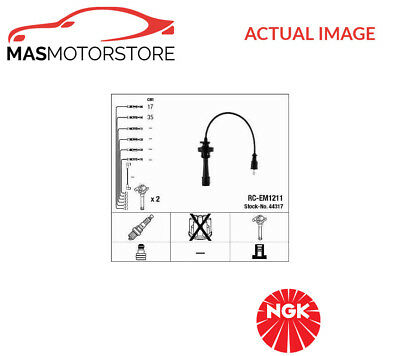 44317 Ngk Ignition Cable Set Leads Kit P New Oe Replacement
