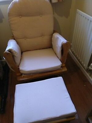 Great Rocking/gliding Tutti Bambini  Nursing Chair in excellent condition