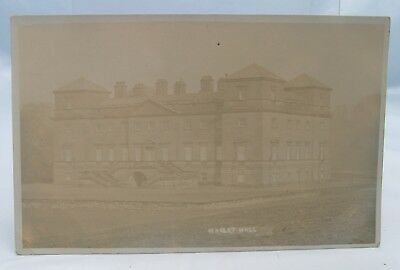 Hagley Hall Antique Real Photograph Postcard Vintage Stourbridge Worcestershire*