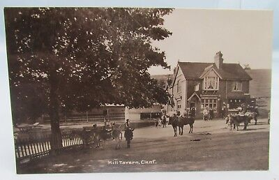 Hill Tavern Clent Antique Real Photograph Postcard Vintage Pub Stourbridge*