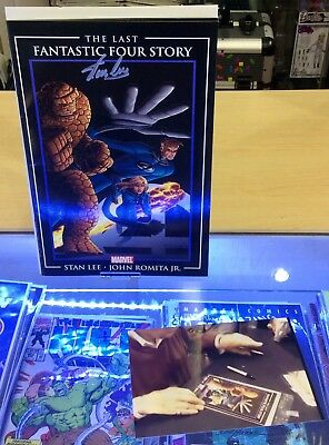 The Last Fantastic Four Story 'World'S End' Comic - Signed By Stan Lee - Poa