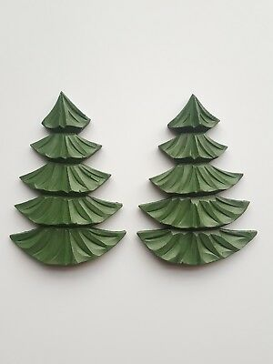 Cuckoo Clock spare/replacement Black Forest Trees (1 pair)