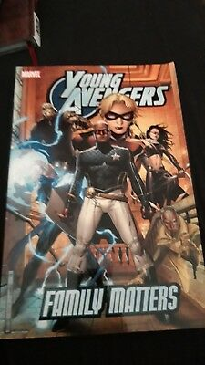 Young Avengers Vol. 2: Family Matters -TPB - Marvel Graphic Novel
