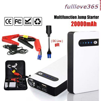 Minimax 30000mAh Portable Car Jump Starter Power Bank Vehicle Battery Charger UI