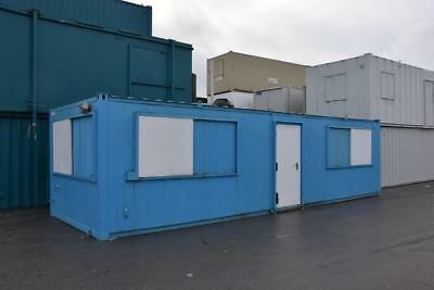 Portable Building 32' x 10' Anti-Vandal 2 offices and corridor