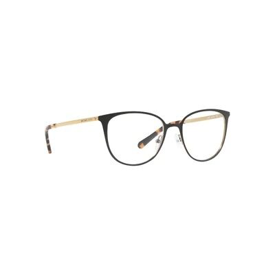 b18286427cce3 New Michael Kors Nao Optical Frames MK3017 1187 Matte Black Gold Tone 51mm  NIB