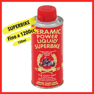 Ceramic Power Liquid Superbike Trattamento Motore Per Moto Sportive 150Ml