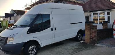 ford transit 2014  lwb high roof with mot