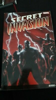 Secret Invasion TPB - Brian Michael Bendis - Marvel Graphic Novel