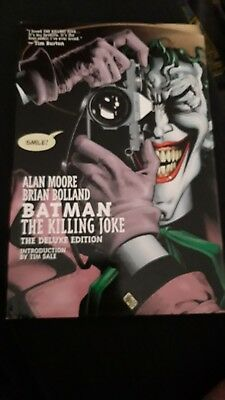 Batman - The Killing Joke - Deluxe Edition HC by Alan Moore (Hardback, 2008)