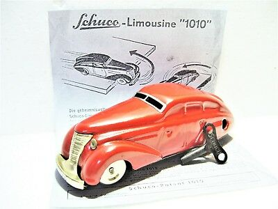 Schuco 1010 WENDEAUTO Maybach Limousine Uhrwerk Maßst. 1:36 made in Germany 1943