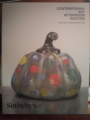 Sotheby's New York  Contemporary Art- Afternoon Sale - November 15,2018