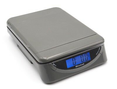 Brecknell PS25 25lb Gray Electronic Postal Shipping Scale USB Or Battery Powered
