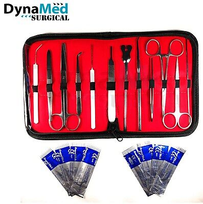 Dissecting kit / Dissection Set / Anatomy Kit 14 Pcs For Medical Students